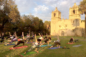 Yoga in Your Park